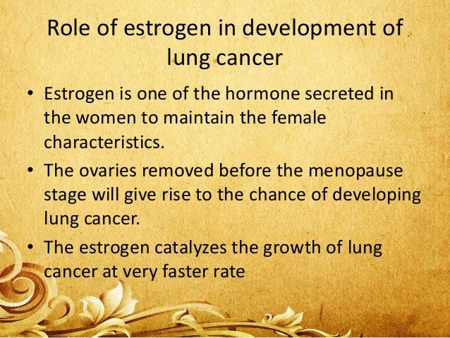Type of lung cancer on women • Women are prone to adenocarcinoma which is the type of Non-small cell lung cancer. • This d...