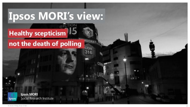 The Death of Polling? Slide 13