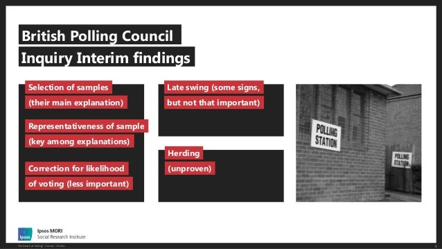 The Death of Polling? Slide 9
