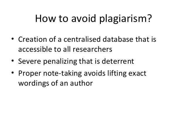 an introduction to the internet plagiarism What is plagiarism   introduction plagiarism has become an increasingly serious problem in the university it is aggravated by the easy access to and the ease of cutting and pasting from a wide range of materials available on the internet.