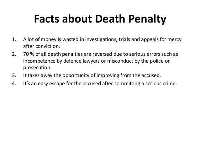 death penalty a deterrent to criminals President trump has called for the death penalty to be sentenced to some drug dealers the decision comes after attorney general jeff sessions called for longer and tougher prison sentences last year but, do these harsher sentences actually work to deter crime following is a transcript of the.