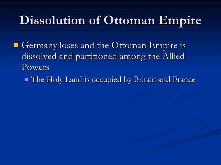 contributing factors on the decline of the ottoman empire The armistice of 31 october 1918 ended the fighting between the ottoman empire and the allies but did not bring stability or peace to the region.