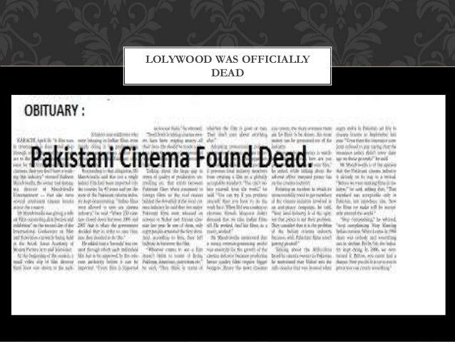 essay on pakistan film industry