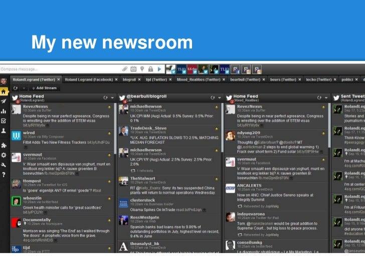 The deconstructed journalist Slide 2