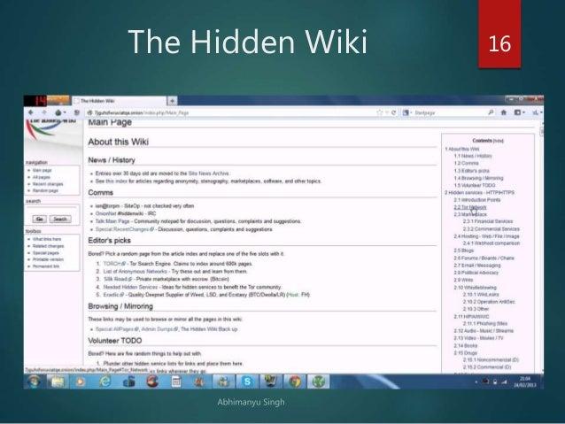 Tor hidden wiki / Thumbprint lsd
