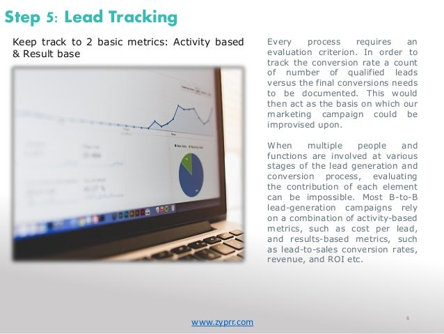 how to keep track of sales leads