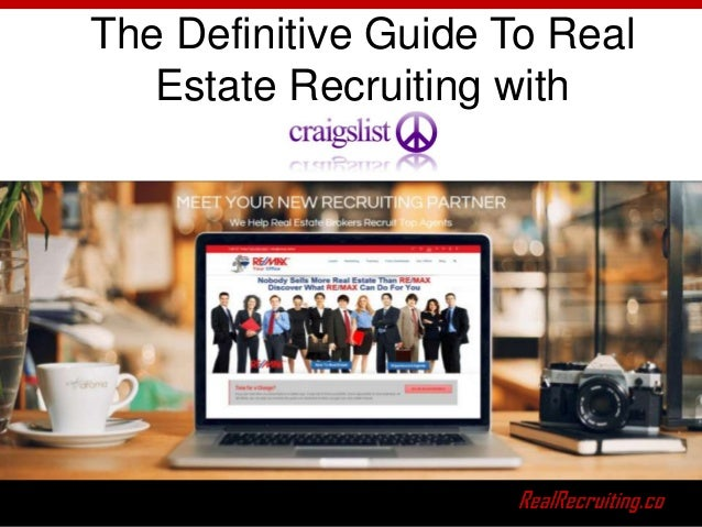 The Definitive Guide To Real Estate Recruiting with