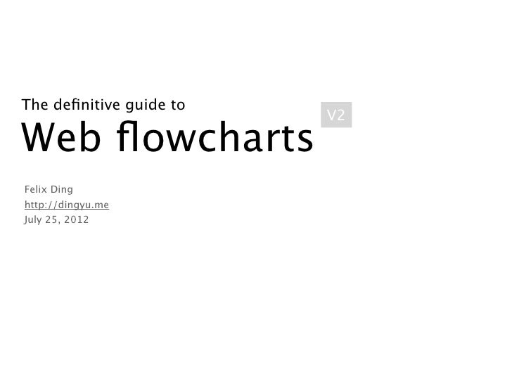 The Definitive Guide To Web Flowcharts