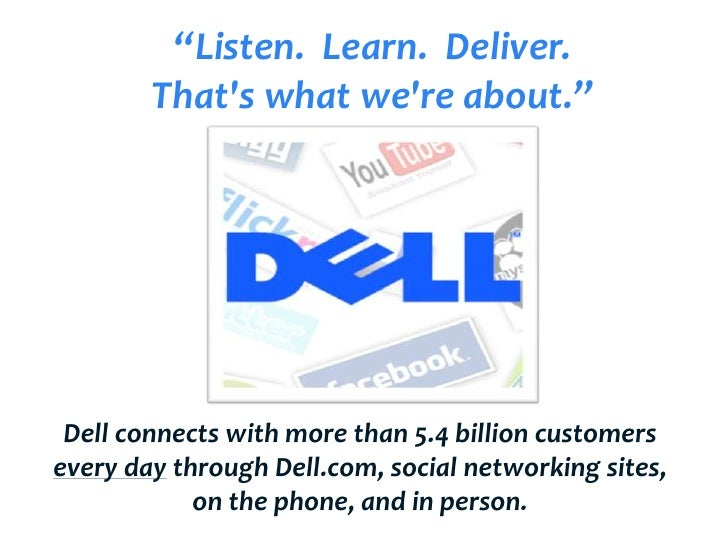 dell communication strategy Marketing & communications see all jobs deliver engaging content and communications with your strategy and publishing experience see jobs events planner.
