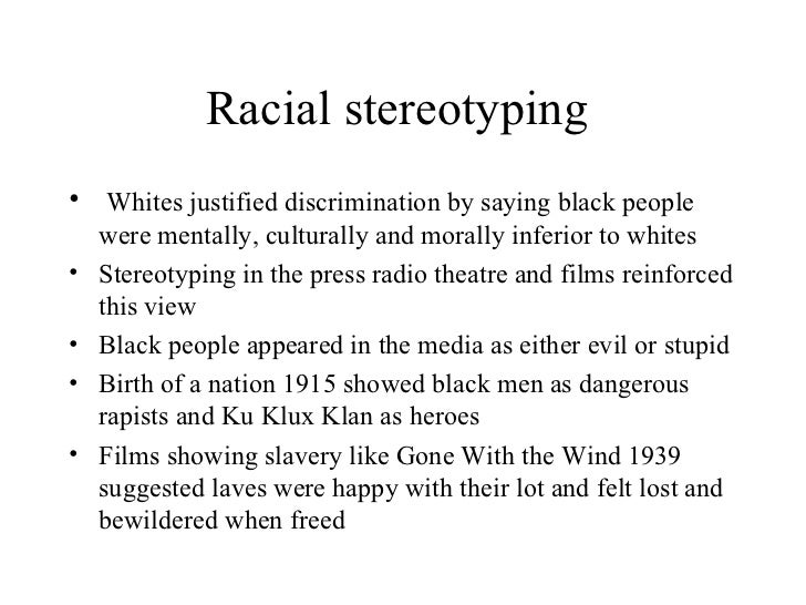 Birth of a nation racism essay