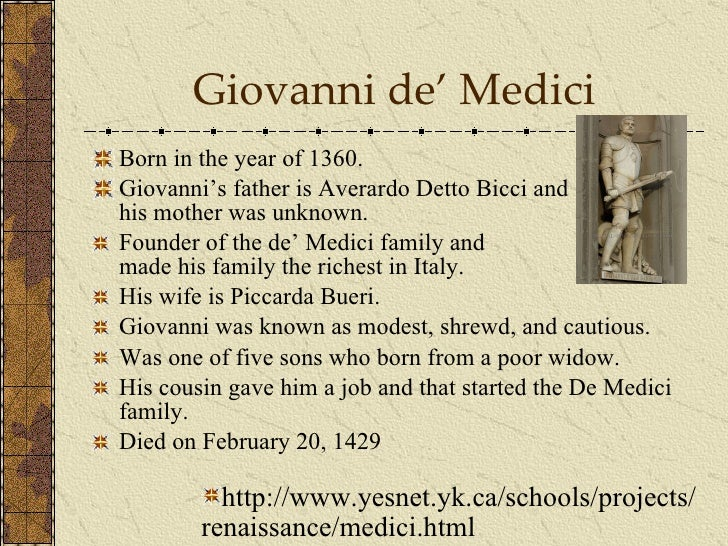 lorenzo de medici essay In the 14th century the family's wealth and political influence increased until the gonfaliere salvestro de' medici led the (himself a medici, son of lorenzo.