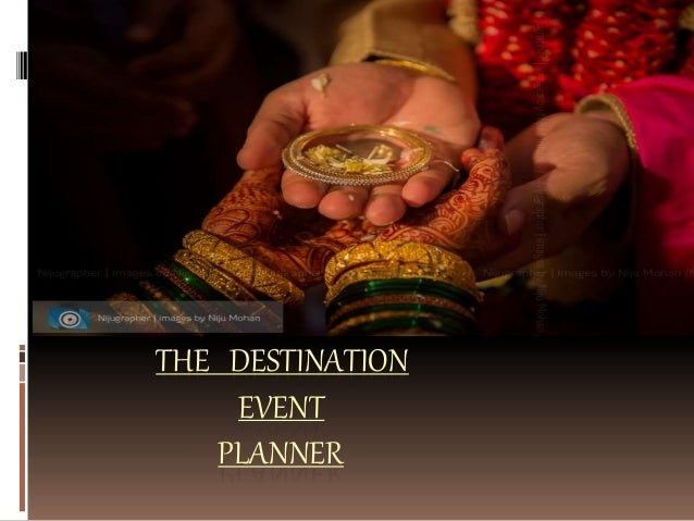 THE DESTINATION EVENT PLANNER