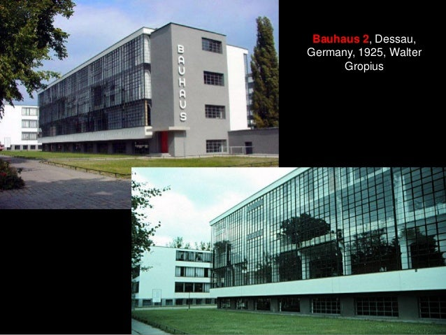 Bauhaus 2, Dessau, Germany, 1925, Walter Gropius
