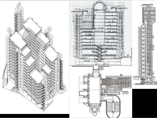 Naturally, it all started with the 6-story Pompidou Center in Paris (1977) by Piano and Rogers, which introduces a new gen...