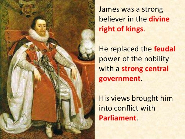 divine rights of kings The divine right of kings was a notable doctrine during the seventeenth century it gave the monarch absolute power the main aspect of the divine right of kings was absolutism absolutism is the political doctrine and practice of unlimited, centralized authority and absolute sovereignty, as vested especially in a monarch or dictator.