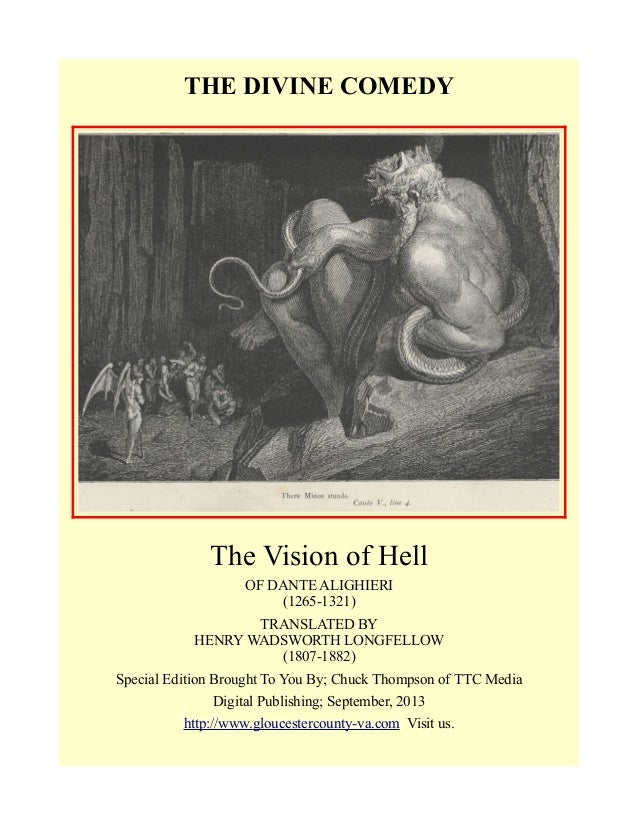 Dante's Inferno Suggested Essay Topics