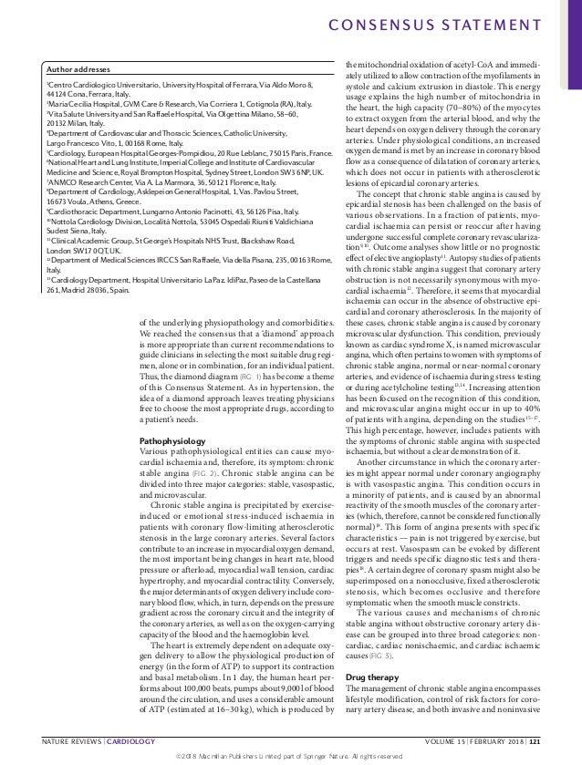 The diamond approach to treat angina