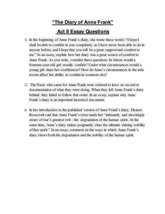 essay test question Sample test questions the following are sample essay, open and closed book exam questions from the sergeants major course's curriculum these sample questions cover.