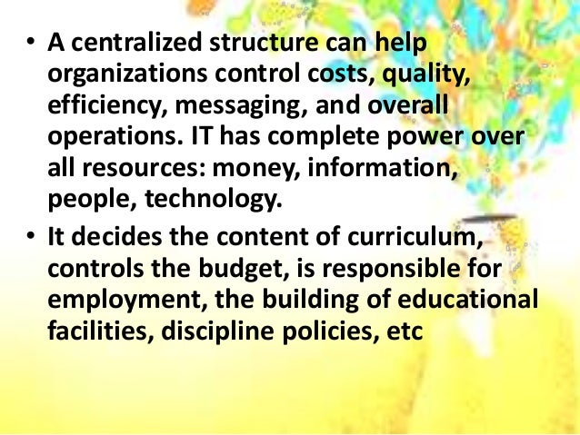 difference between centralization and decentralization Difference between centralization and decentralization may 26, 2015 by surbhi s 15 comments centralization and decentralization are the two types of structures, that can be found in the organization.