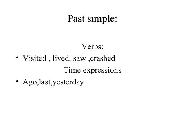 differences between past and our present Time is a concept which is related to our perception of reality there are three times: past, present and future tense is a grammatical category which is marked by verb inflection and.