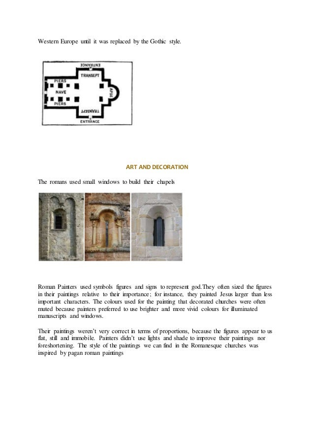 difference in gothic and romanesque architecture essay Art test 2- the romanesque & gothic  in romanesque architecture, all the support comes from the heavy walls  what are the main differences between gothic and.