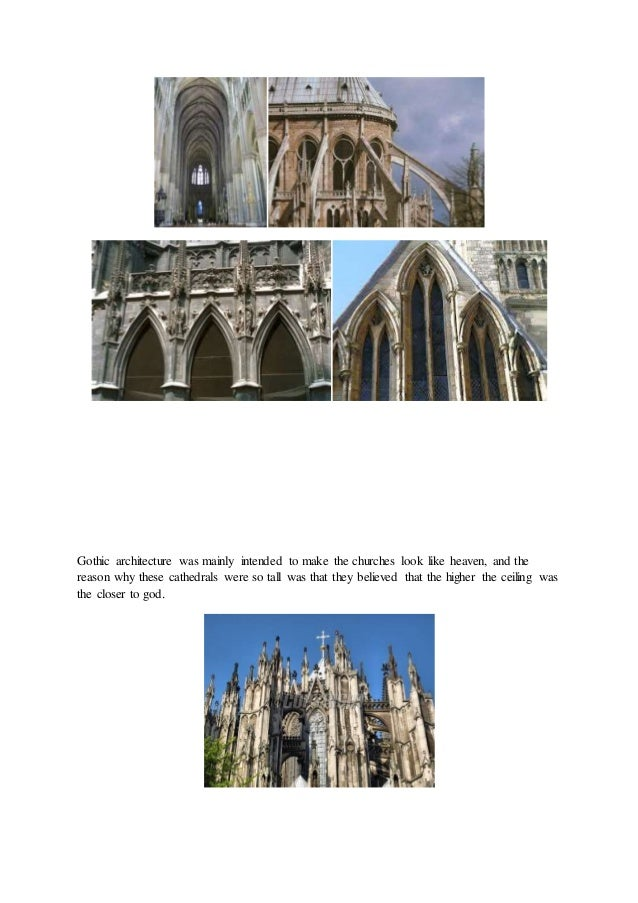 a comparison between the gothic architecture and egyptian architecture Difference between romanesque art & gothic art architecture the differences between romanesque art and gothic art are clearly seen in the egyptian art vs.