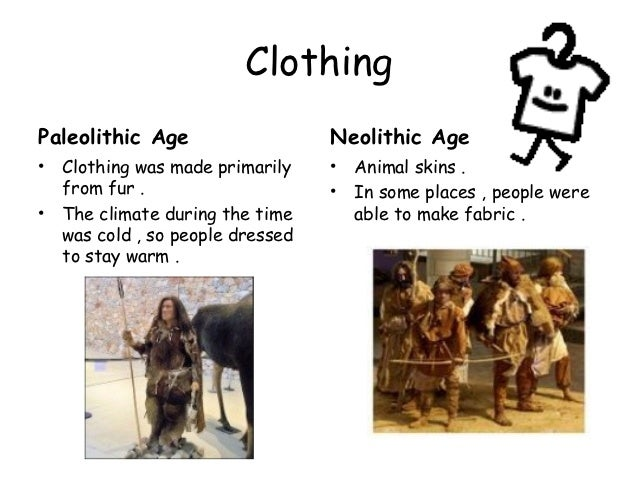 neolithic and paleolithic differences