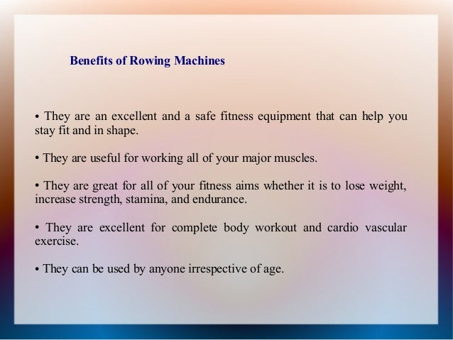 rowing machine vs running