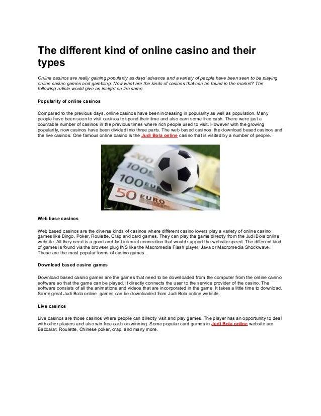 casino machine games
