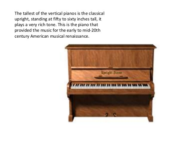 The Different Types Of Pianos