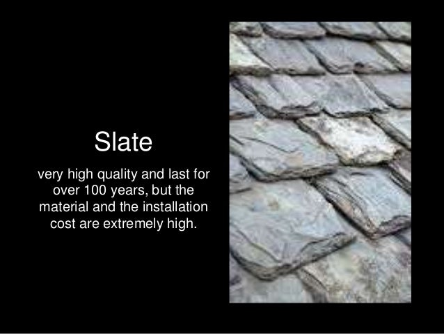 The Different Types Of Roofing Materials Available For