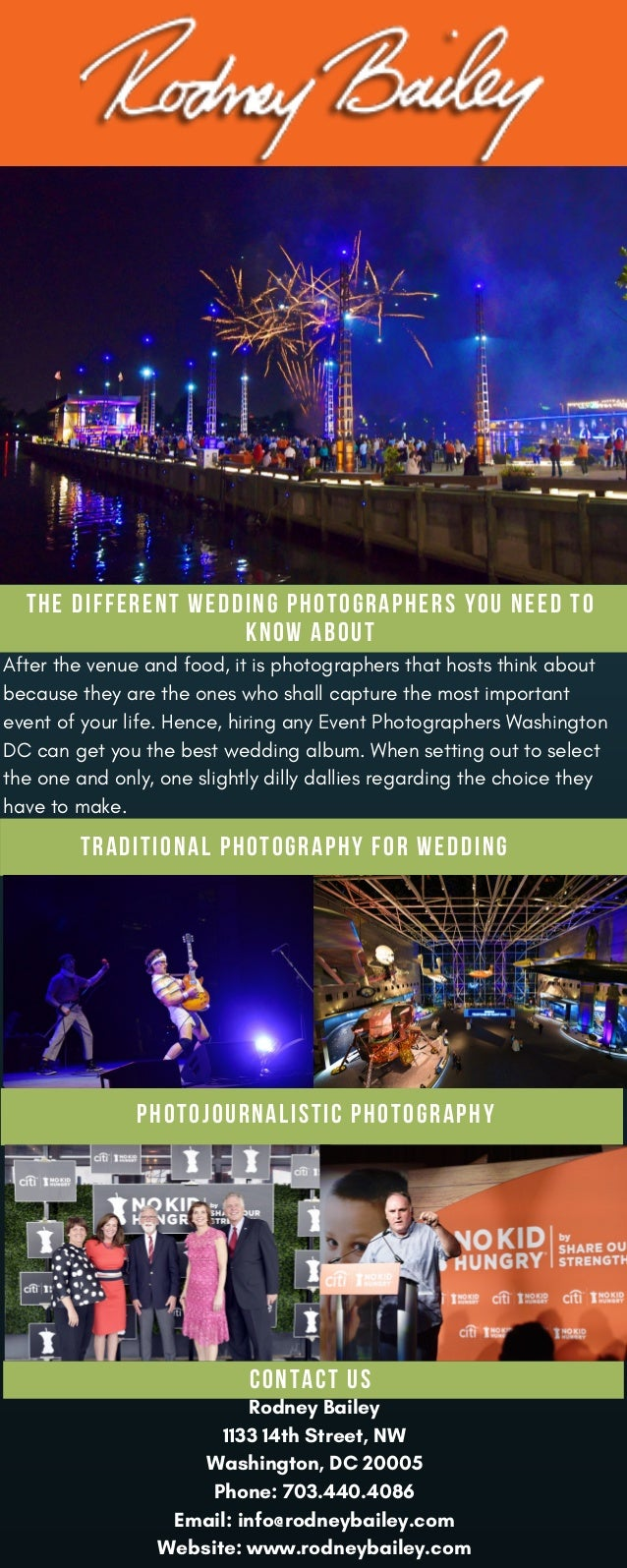 After the venue and food, it is photographers that hosts think about because they are the ones who shall capture the most ...