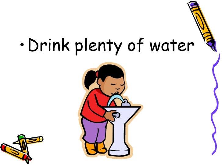 Drink Lots of Water Clip Art