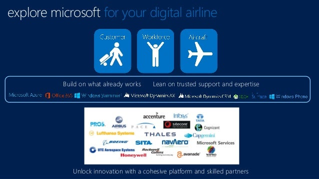 explore microsoft for your digital airline Unlock innovation with a cohesive platform and skilled partners Build on what a...