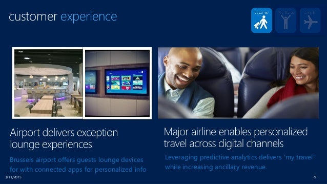 3/11/2015 9 customer experience Brussels airport offers guests lounge devices for with connected apps for personalized inf...