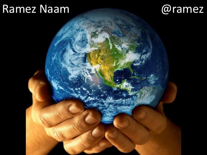 Ramez Naam                  @ramez<br />