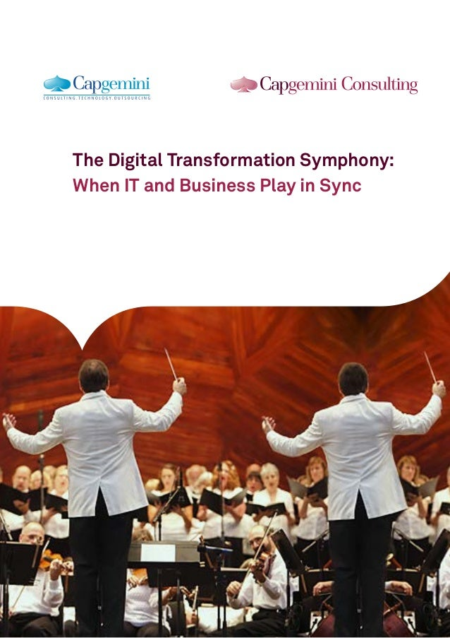 The Digital Transformation Symphony:  When IT and Business Play in Sync