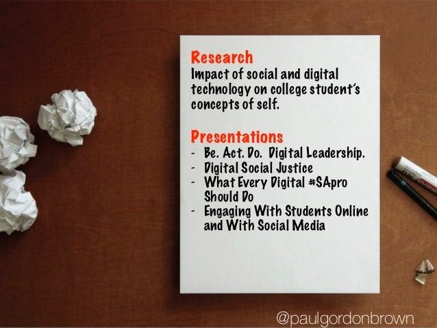 The Digital Development of College Students Slide 3