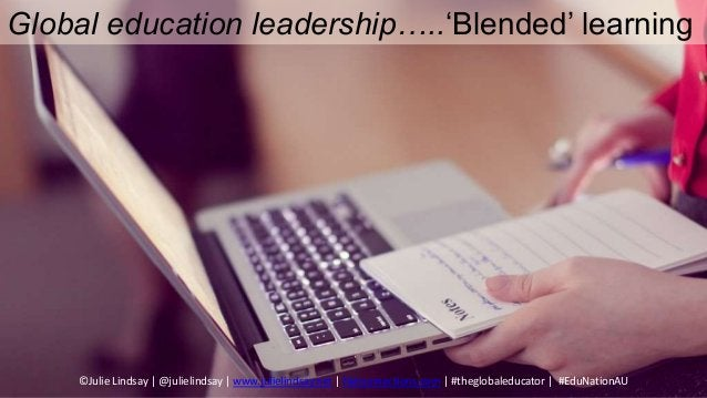 Learning Design Balance…… Synchronous Asynchronous Blended learning modes to support online collaboration ©Julie Lindsay  ...