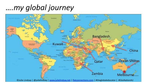 ….my global journey Zambia Kuwait Bangladesh Qatar China Ocean Shores Melbourne ©Julie Lindsay   @julielindsay   www.julie...