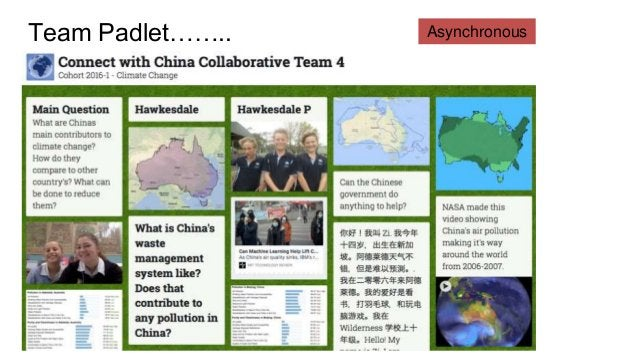 Connecting China with the world….. Skype Recording onto Voicethread Recording video