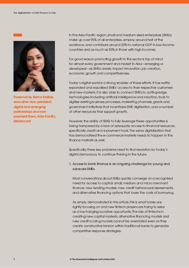 The digitalisation of SME Finance in Asia Slide 2
