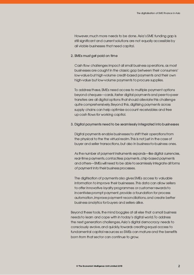The digitalisation of SME Finance in Asia Slide 3