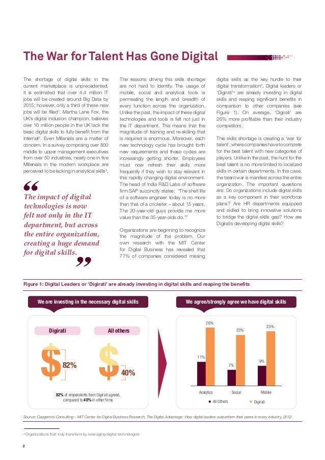 The Digital Talent Gap Slide 2