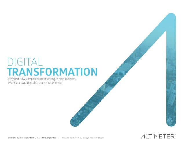 The Digital Transformation of the Health and Fitness industry Slide 1