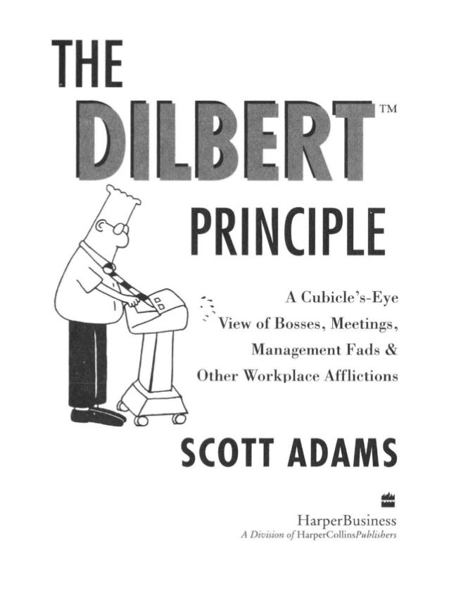 The dilbert principle scott adams