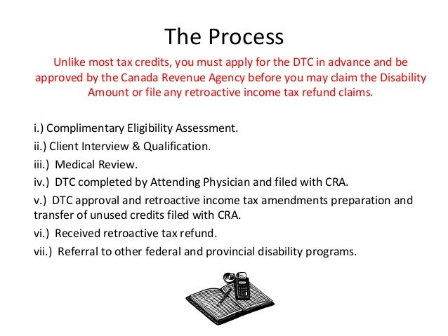 The Disability Tax Credit Presentation