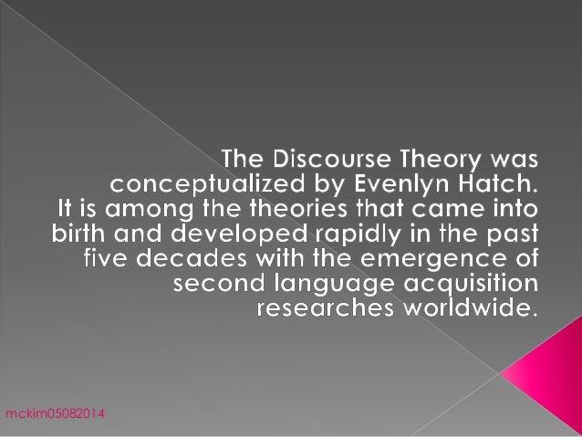 discourse theory pdf