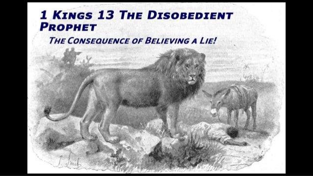 The disobedient prophet