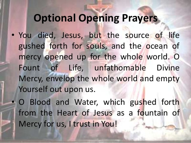 How to pray the divine mercy chaplet pdf